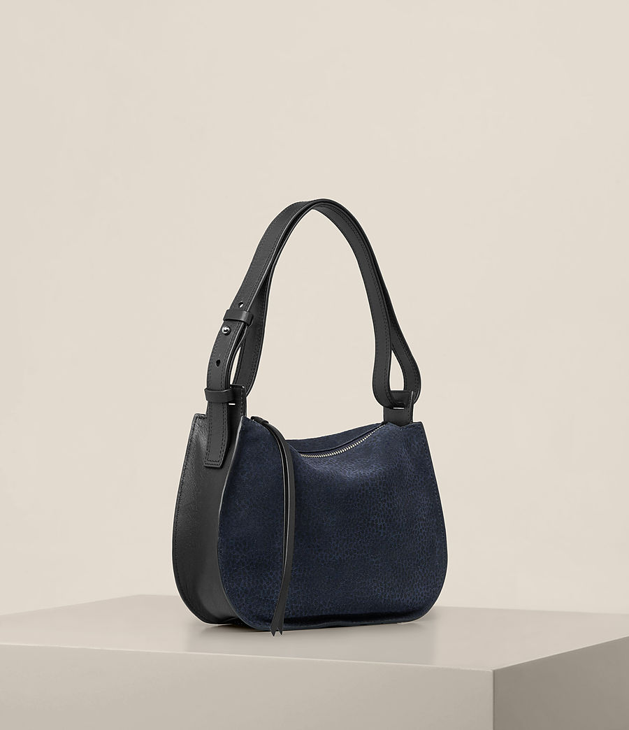 Women's Echo Mini Hobo Bag (marine_blue_black) - Image 6