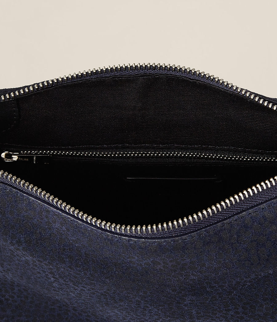 Women's Echo Mini Hobo Bag (marine_blue_black) - Image 8