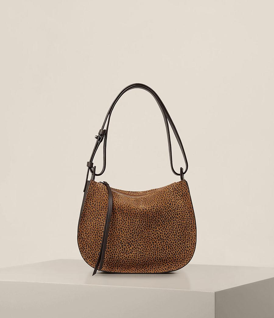 Women's Echo Mini Hobo Bag (caramel_blackberry) - Image 1