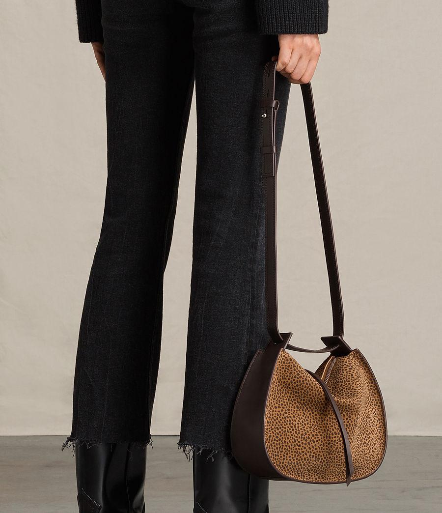Women's Echo Mini Hobo Bag (caramel_blackberry) - Image 2