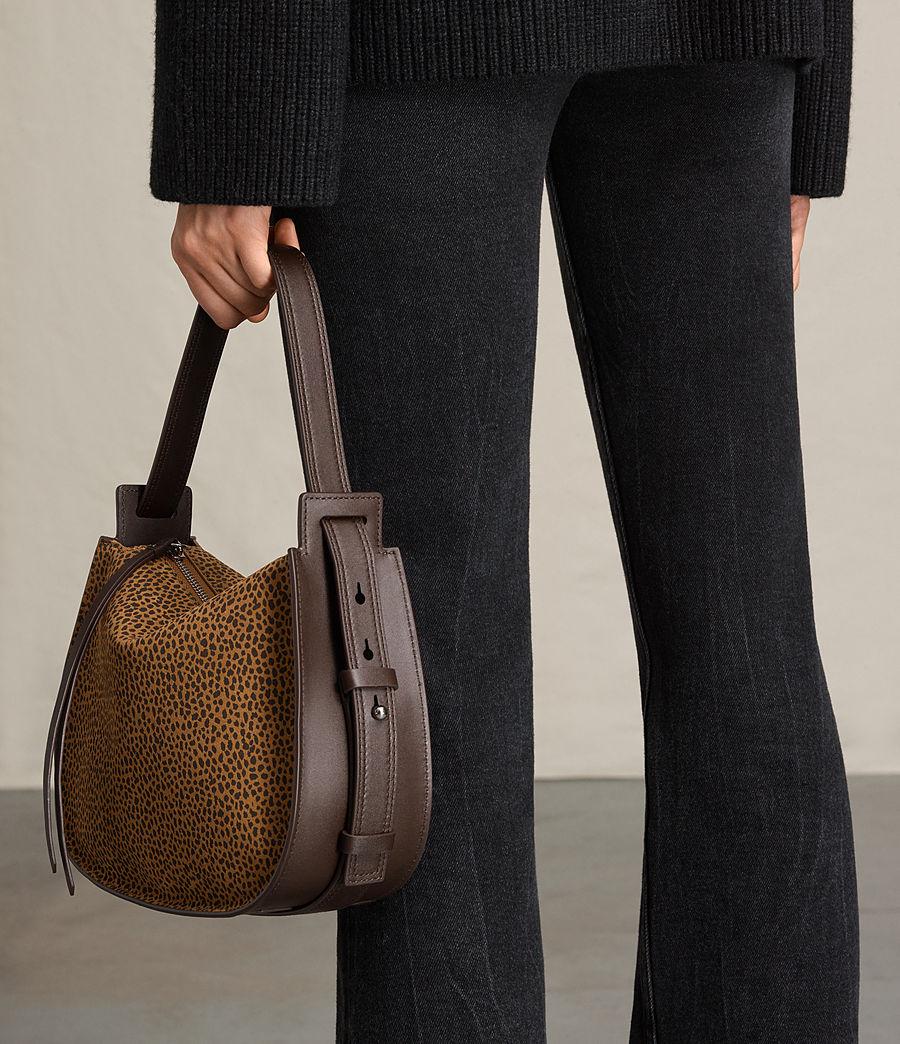 Women's Echo Mini Hobo Bag (caramel_blackberry) - Image 3