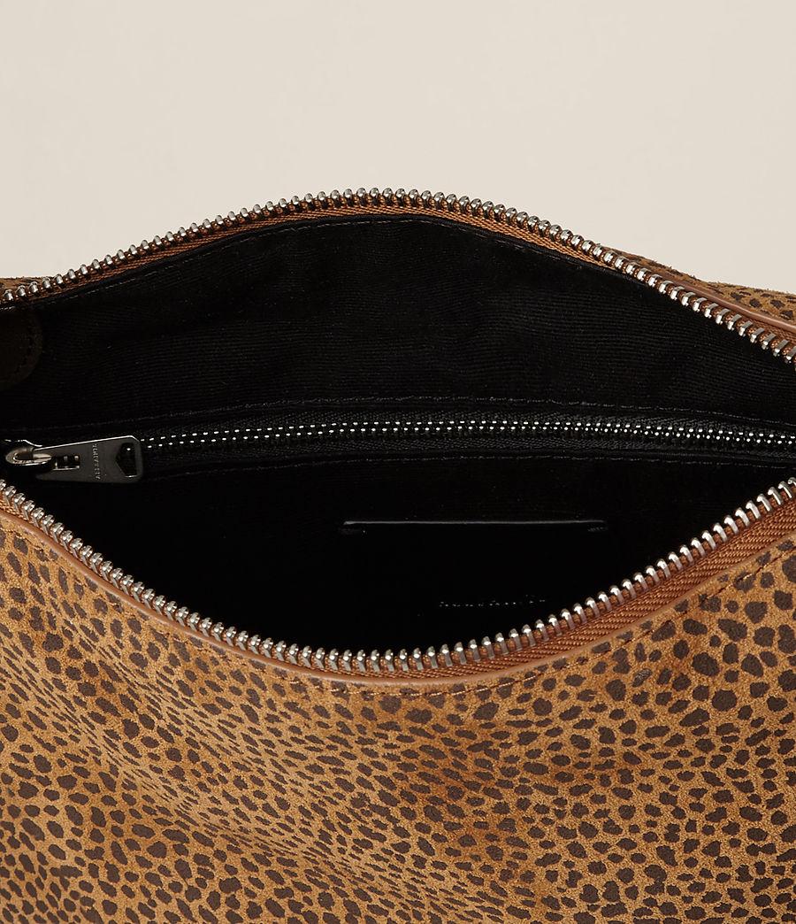 Women's Echo Mini Hobo Bag (caramel_blackberry) - Image 8
