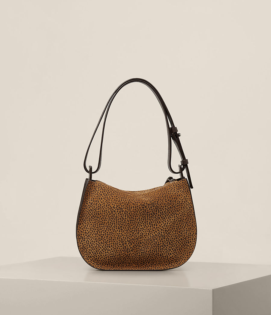Women's Echo Mini Hobo Bag (caramel_blackberry) - Image 9