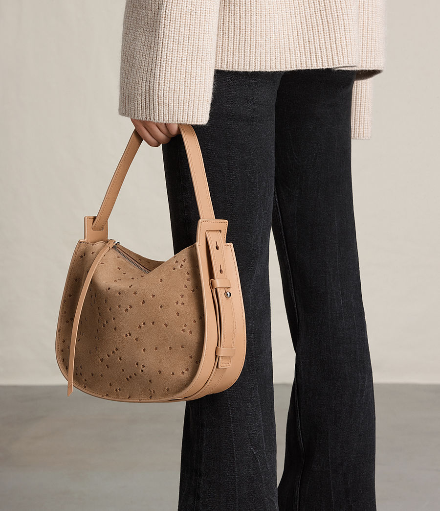 Women's Echo Mini Hobo Bag (light_caramel) - Image 3