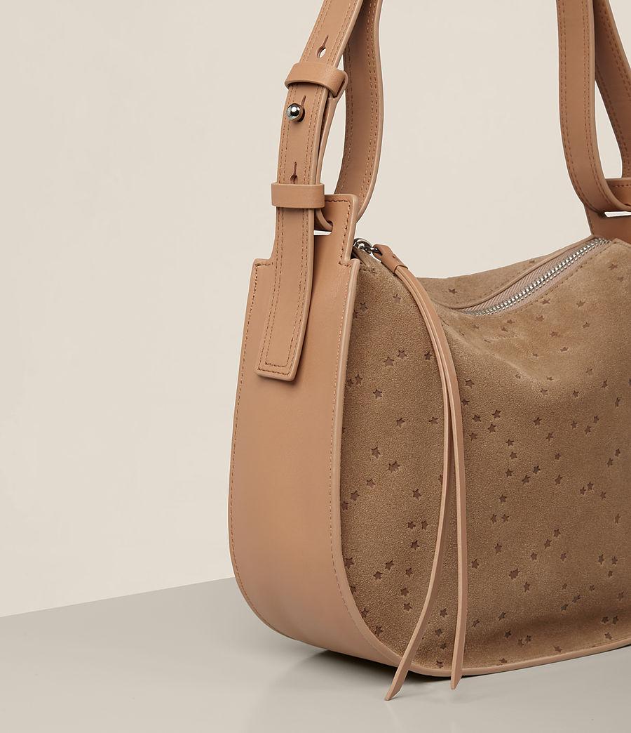 Women's Echo Mini Hobo Bag (light_caramel) - Image 4