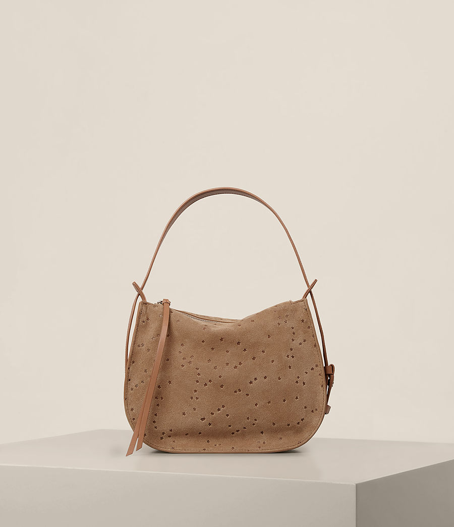 Women's Echo Mini Hobo Bag (light_caramel) - Image 7
