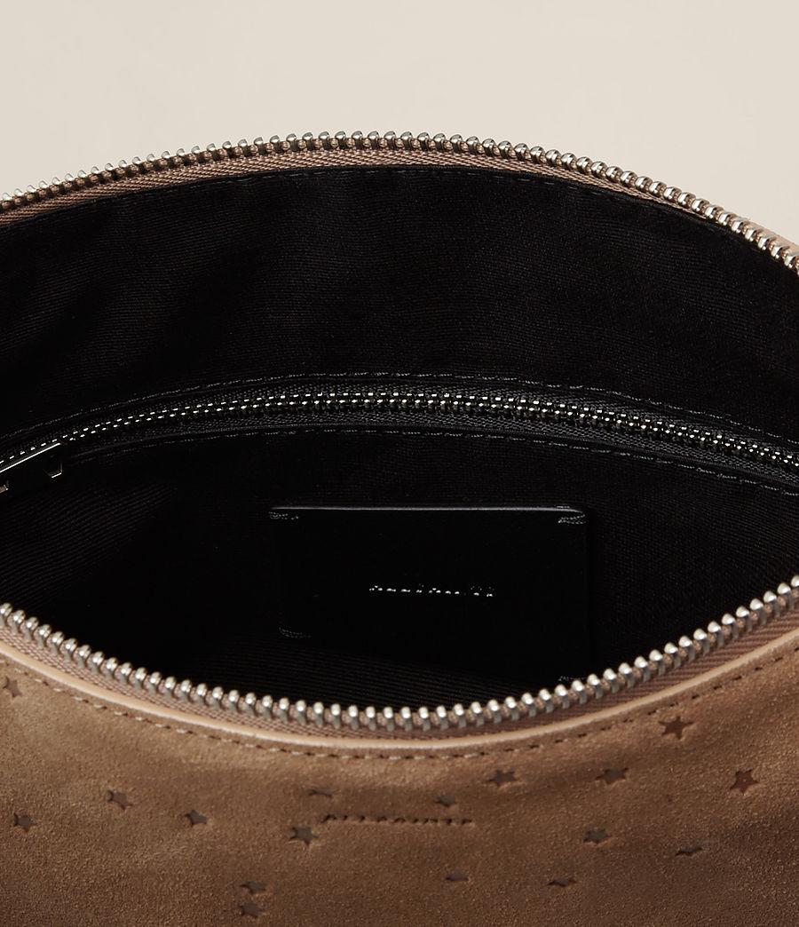 Women's Echo Mini Hobo Bag (light_caramel) - Image 8