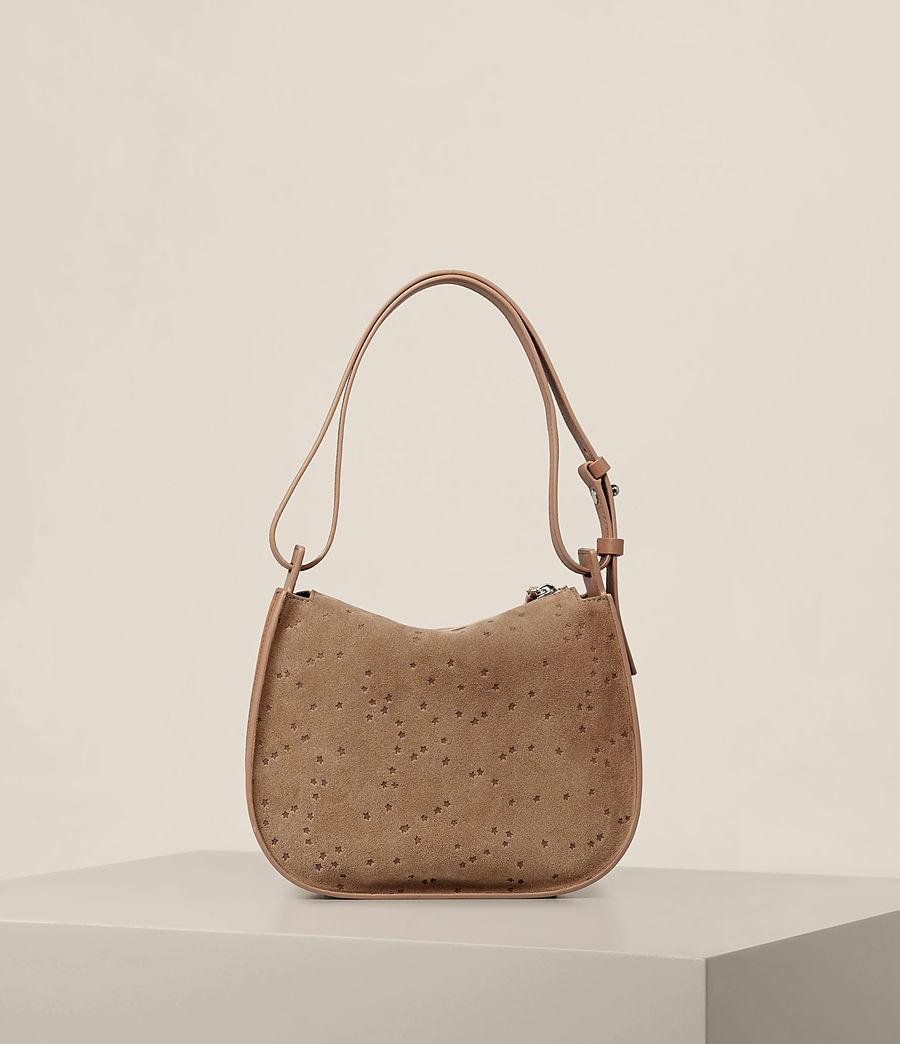Women's Echo Mini Hobo Bag (light_caramel) - Image 9