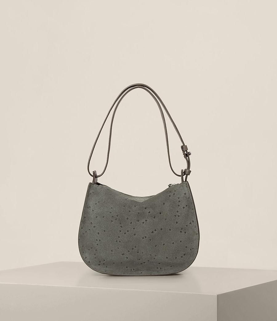 Damen Echo Mini Hobo-Tasche (smoke_grey) - Image 9