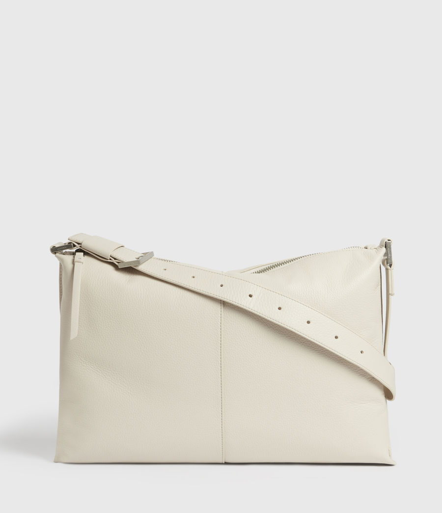 Women's Edbury Leather Shoulder Bag (chalk) - Image 1
