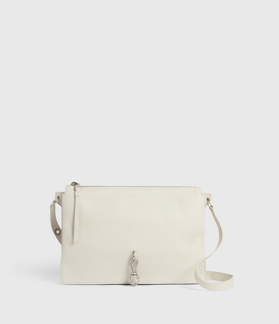 Women's Sheringham Leather Shoulder Bag (chalk_white) - Image 1