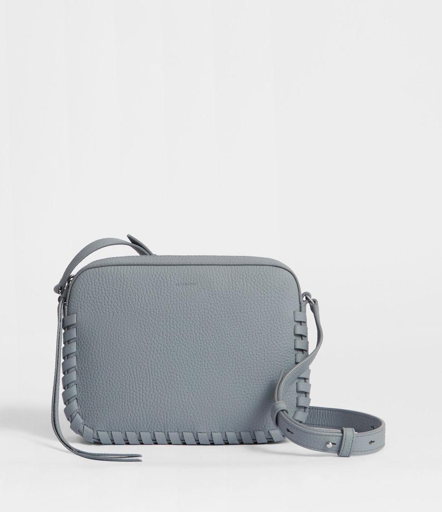 Womens Kepi Leather Crossbody Bag (denim_blue) - Image 1