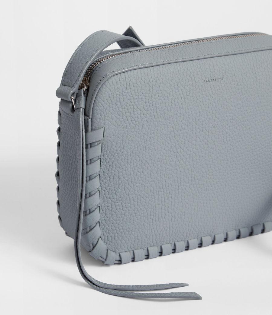 Womens Kepi Leather Crossbody Bag (denim_blue) - Image 3