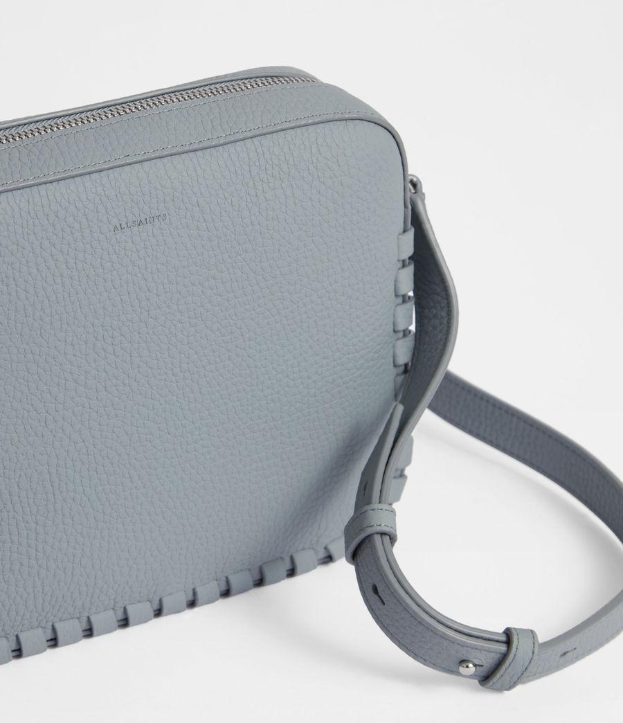 Womens Kepi Leather Crossbody Bag (denim_blue) - Image 4