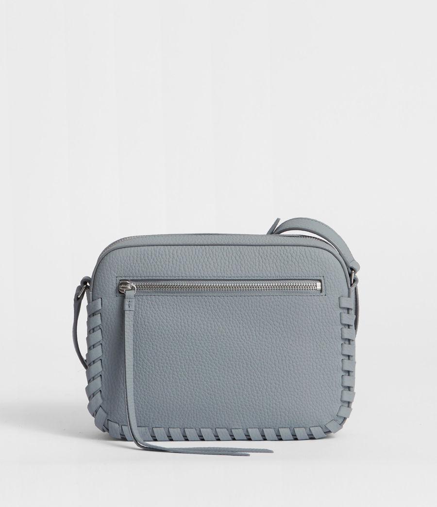 Womens Kepi Leather Crossbody Bag (denim_blue) - Image 5