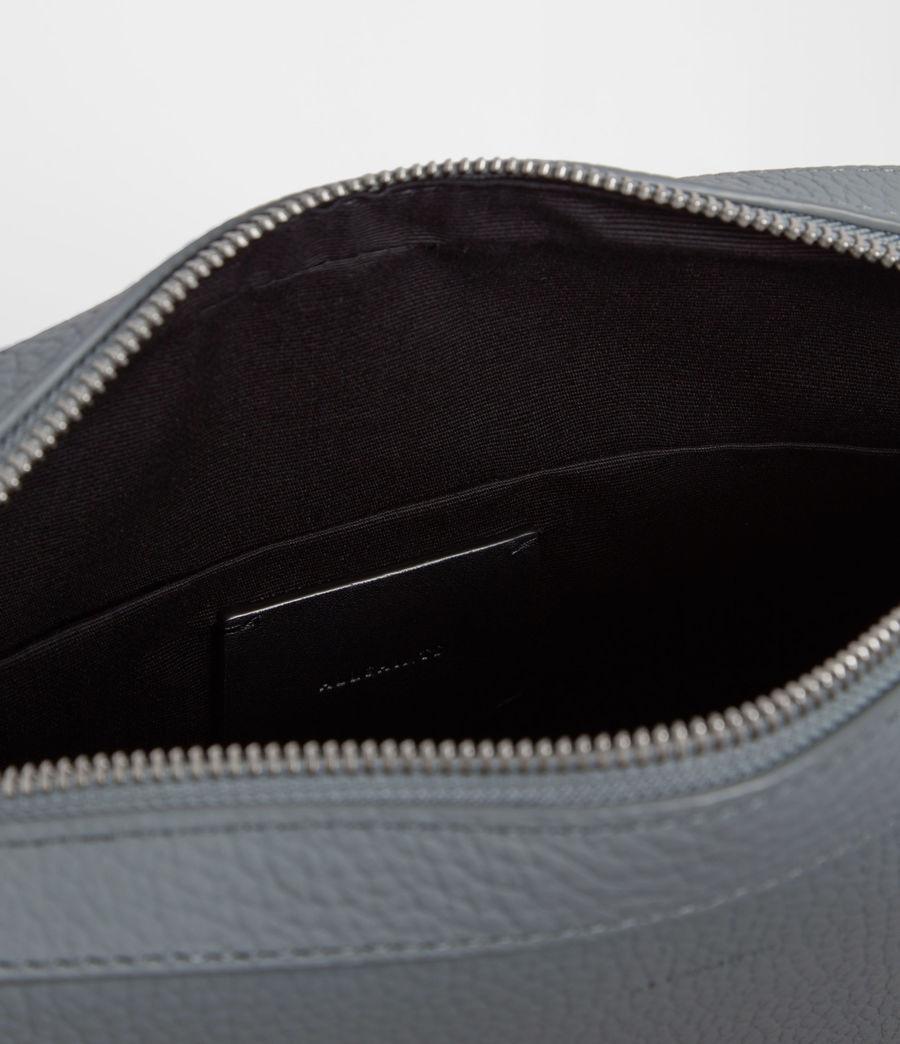 Womens Kepi Leather Crossbody Bag (denim_blue) - Image 7