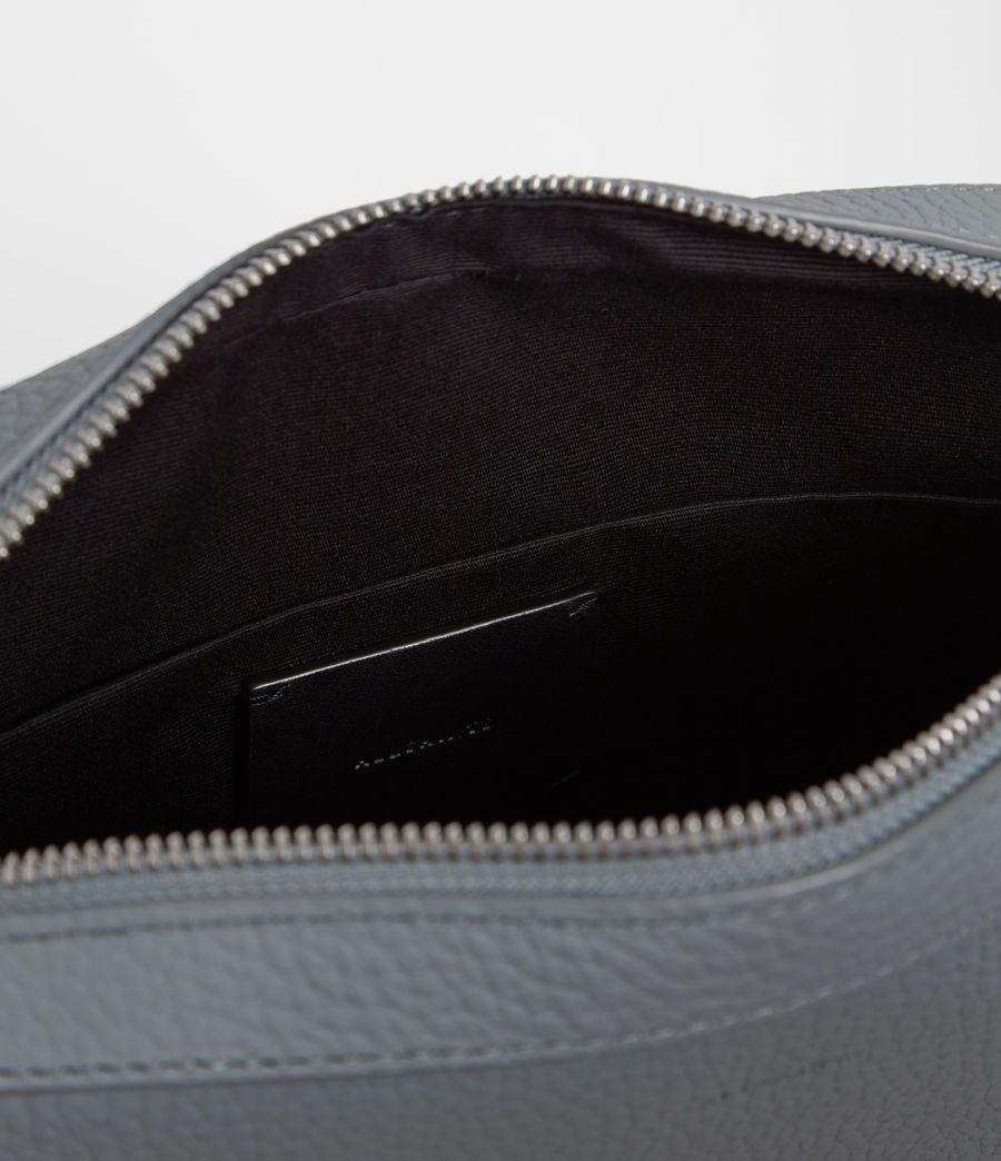 Womens Kepi Leather Crossbody Bag (denim_blue) - Image 8
