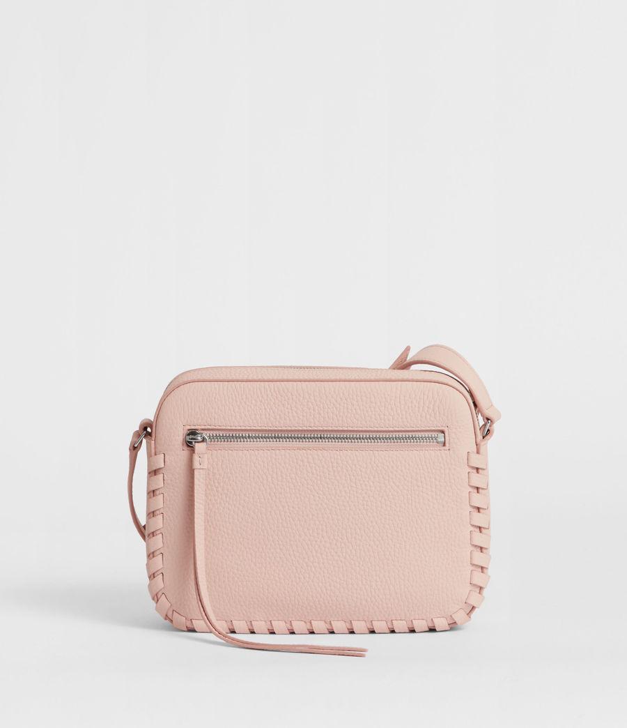 Women's Kepi Leather Crossbody Bag (peach_pink) - Image 7