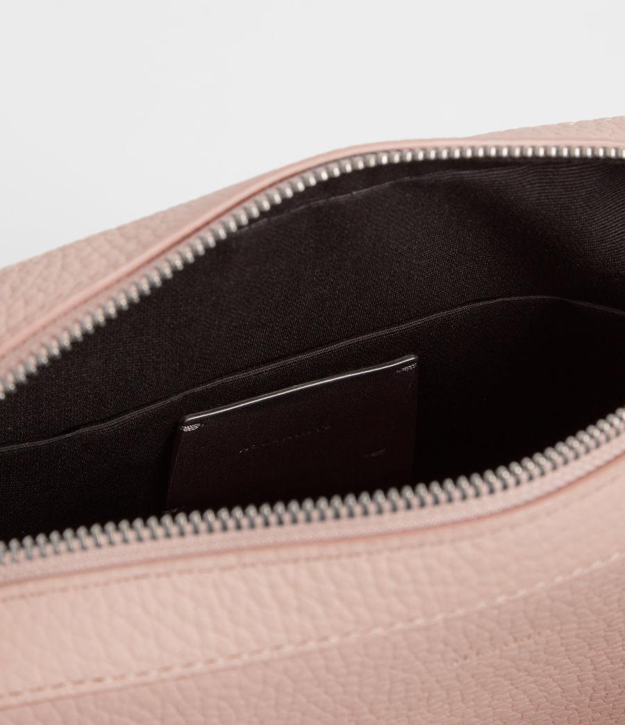 Women's Kepi Leather Crossbody Bag (peach_pink) - Image 8