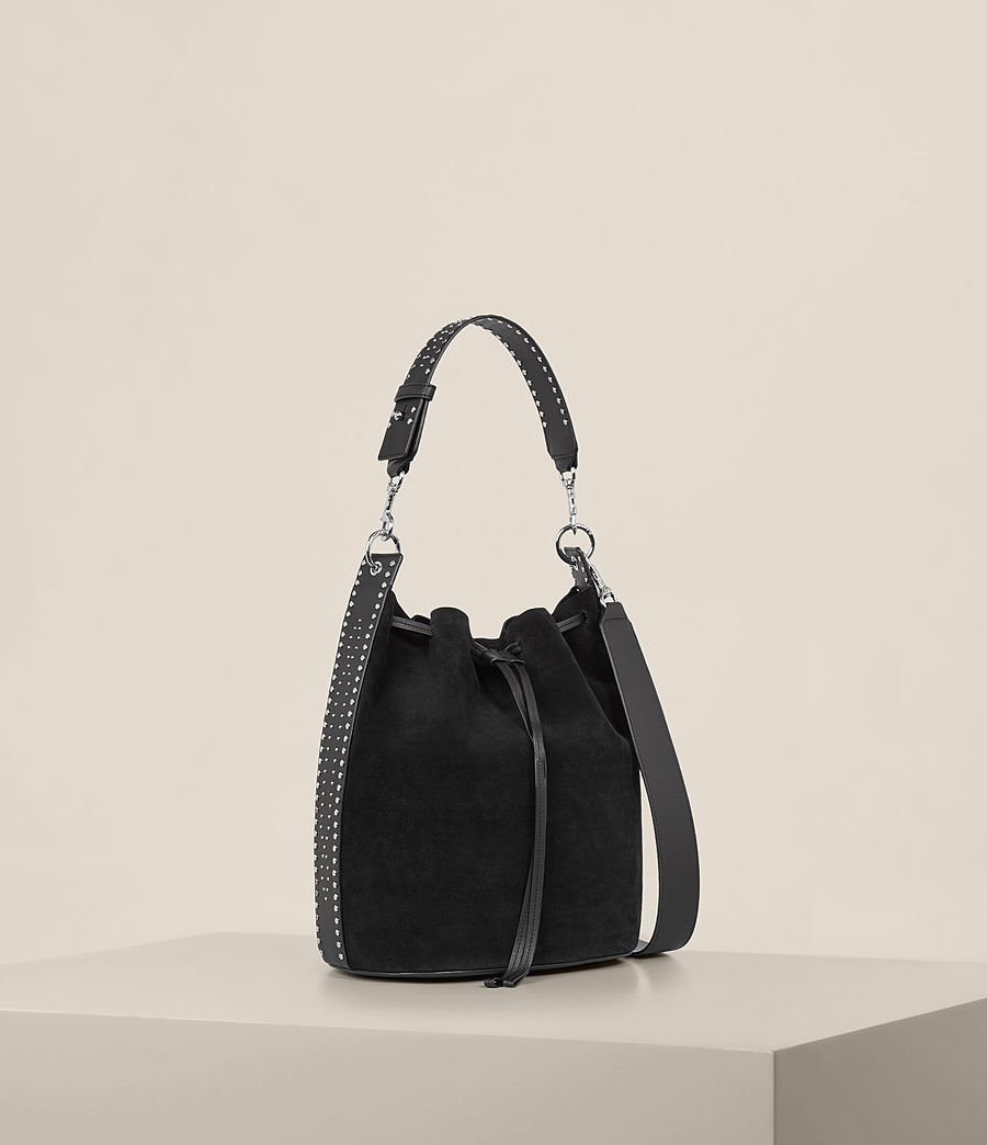 Womens Billie Bucket Bag (black) - Image 1
