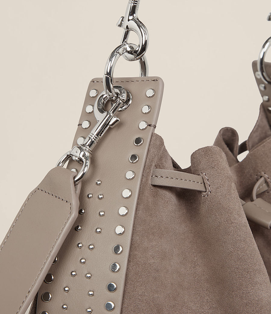 Damen Billie Bucket-Tasche (almond_brown) - Image 4