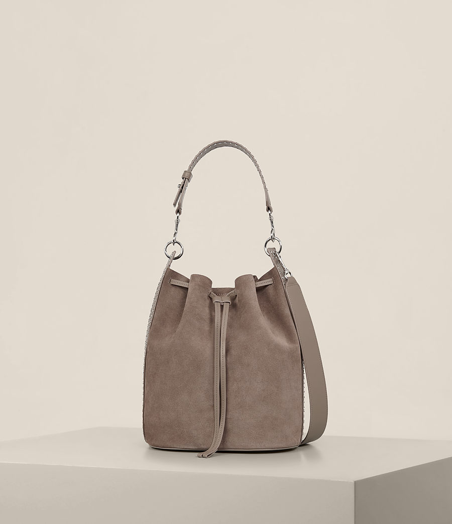 Damen Billie Bucket-Tasche (almond_brown) - Image 5