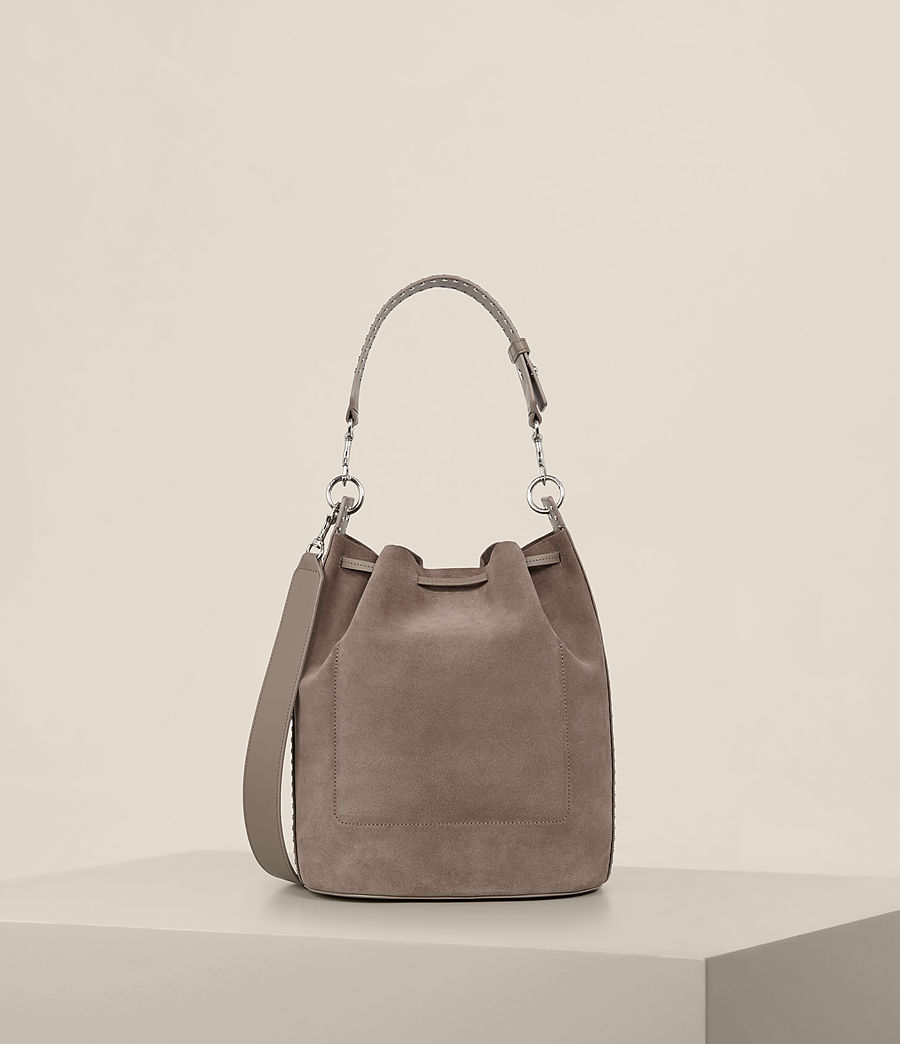 Damen Billie Bucket-Tasche (almond_brown) - Image 8