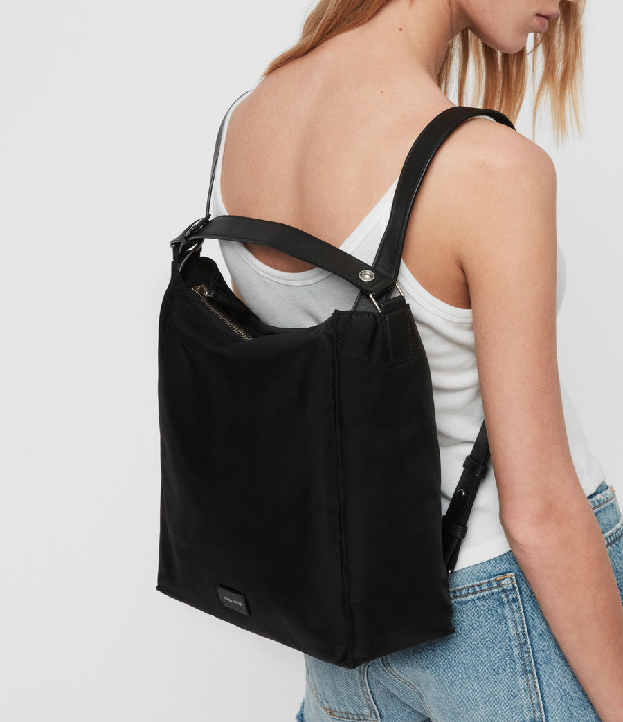 Womens Nilo Kita Small Backpack (black) - Image 2