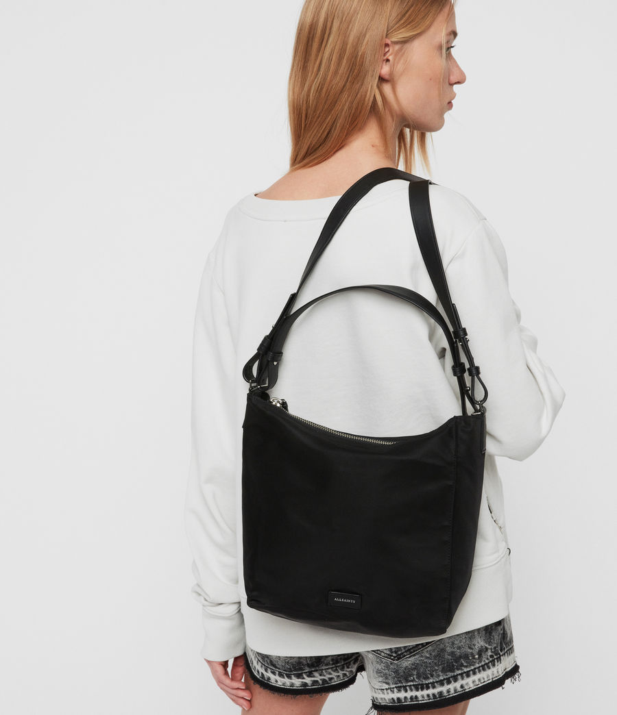 Womens Nilo Kita Crossbody Bag (black) - Image 2
