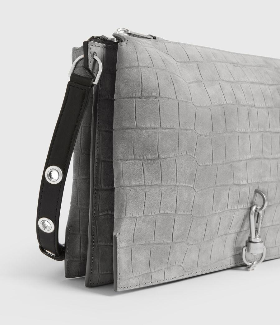 Women's Sheringham Suede Shoulder Bag (mist_grey) - Image 6