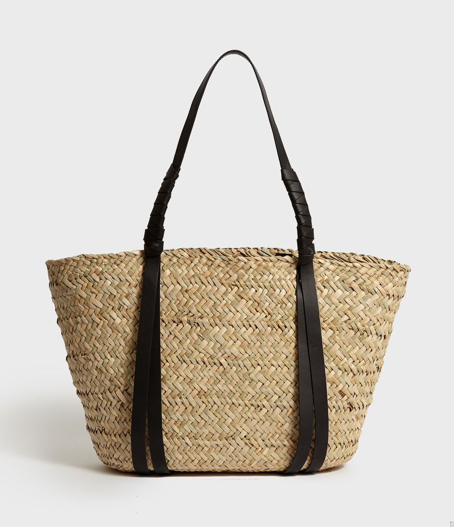 Women's Playa East West Beach Tote Bag (natural) - Image 6