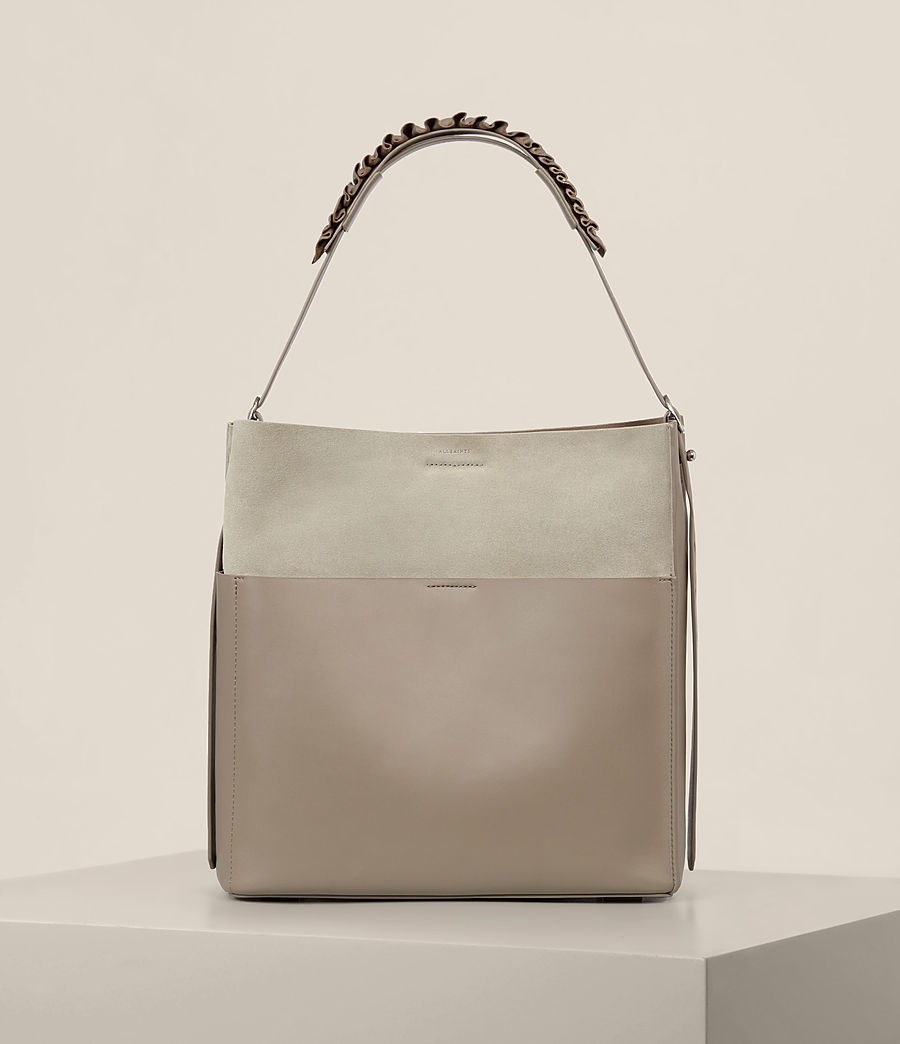 Women's Maya North South Tote (taupe_grey) - Image 1