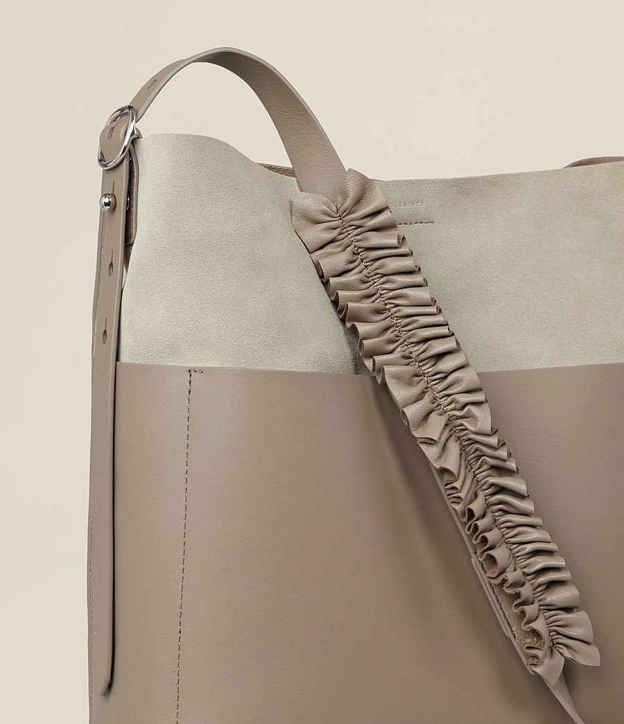 Women's Maya North South Tote (taupe_grey) - Image 3