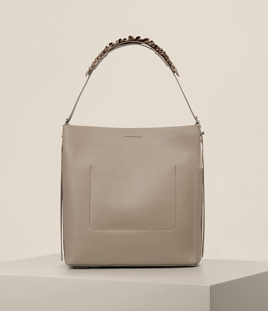 Women's Maya North South Tote (taupe_grey) - Image 7