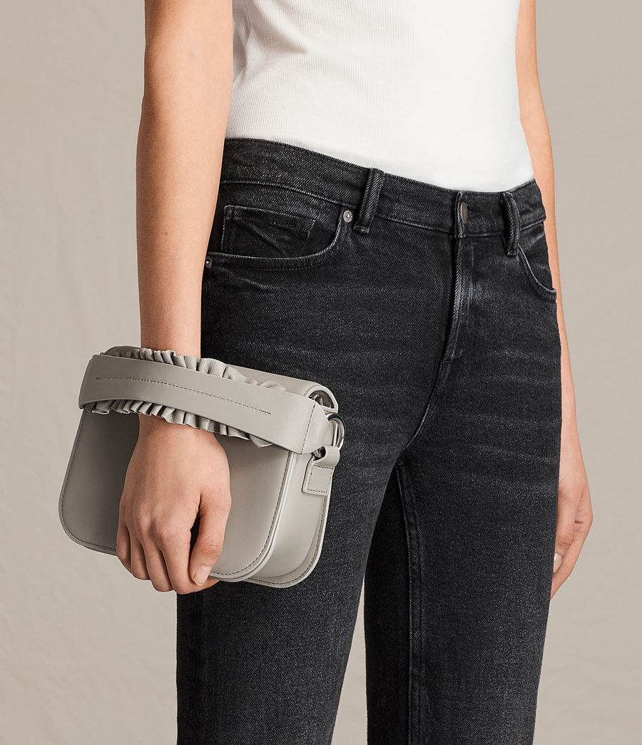 Women's Maya Clutch (light_cement_grey) - Image 2