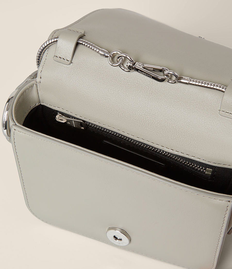 Women's Maya Clutch (light_cement_grey) - Image 7