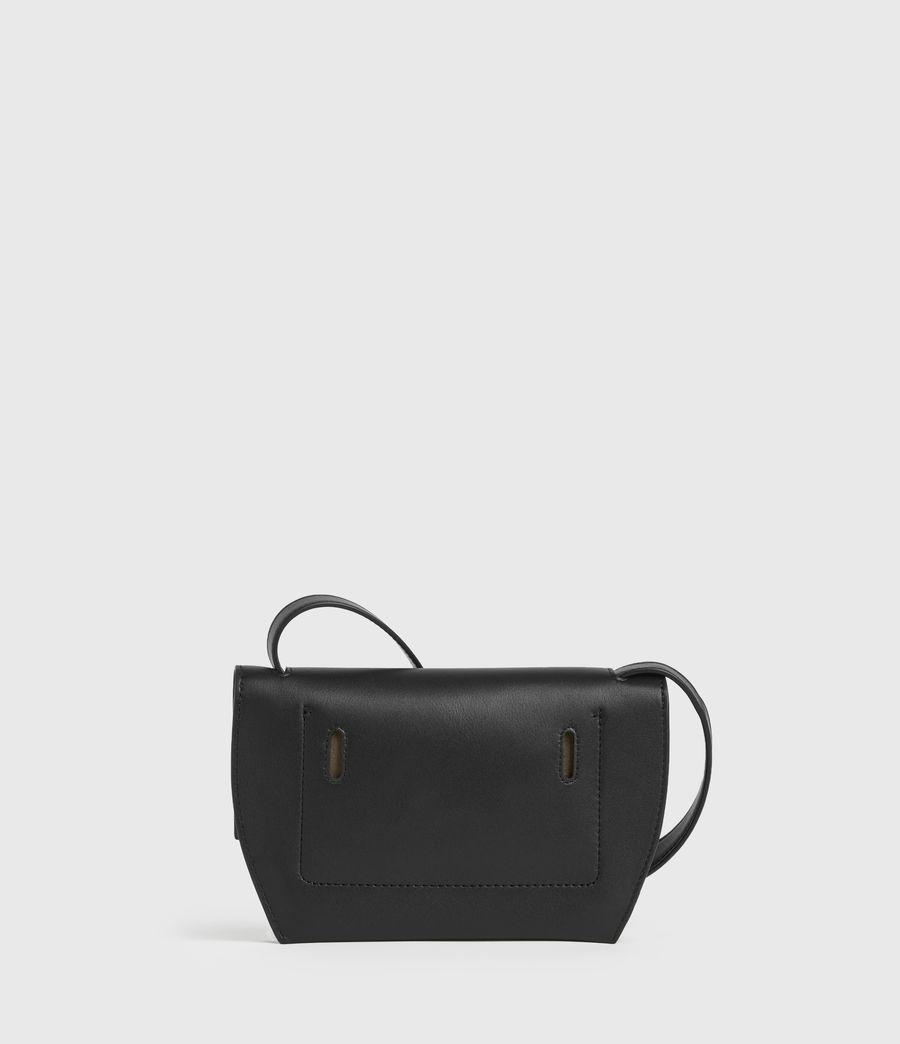Damen Corbet Leather Crossbody Bumbag (black) - Image 4