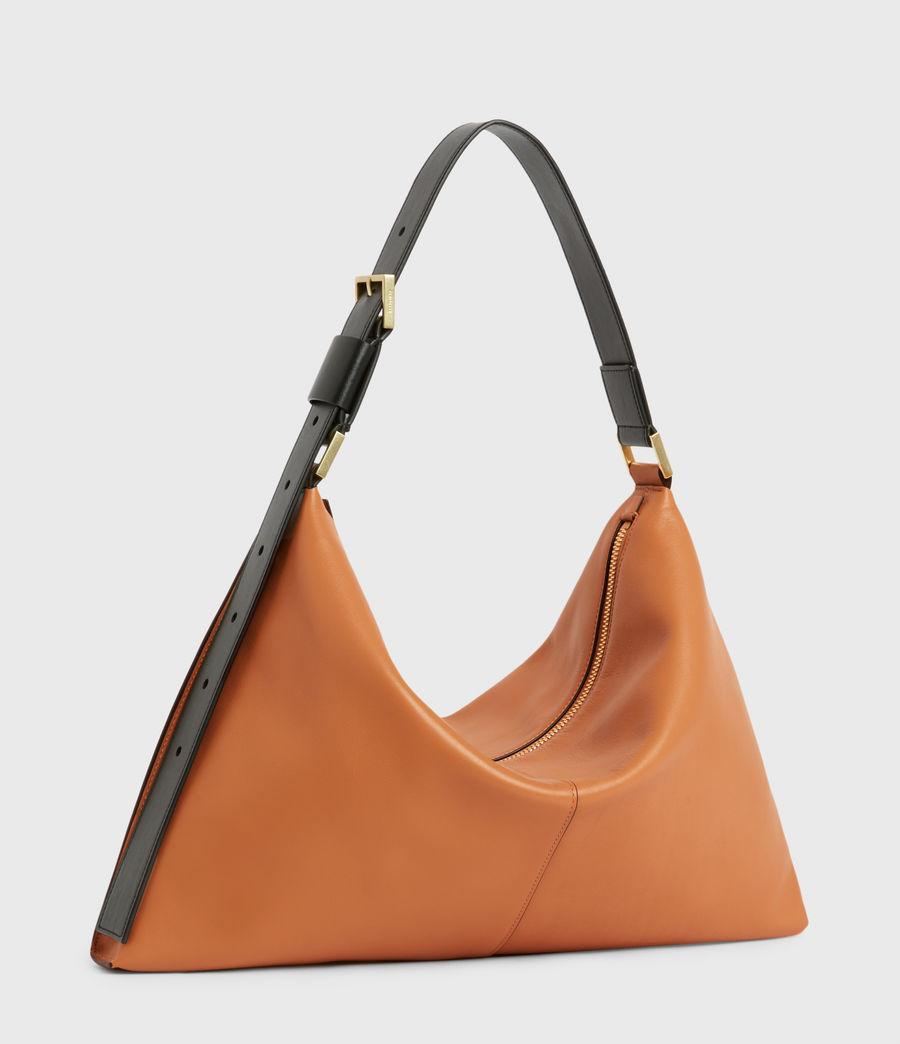 Femmes Edbury Leather Shoulder Bag (desert_tan) - Image 4