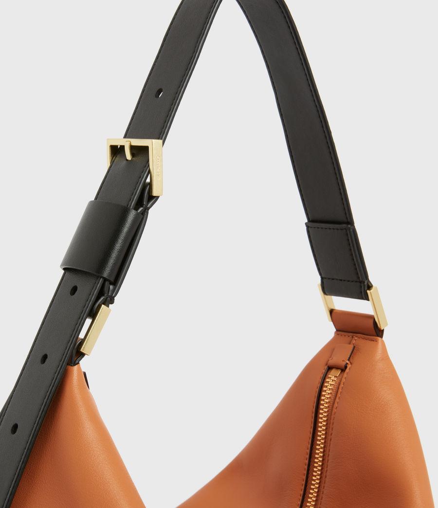 Femmes Edbury Leather Shoulder Bag (desert_tan) - Image 5