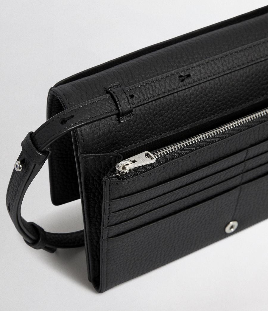 Women's Fetch Wallet Crossbody (black) - Image 2