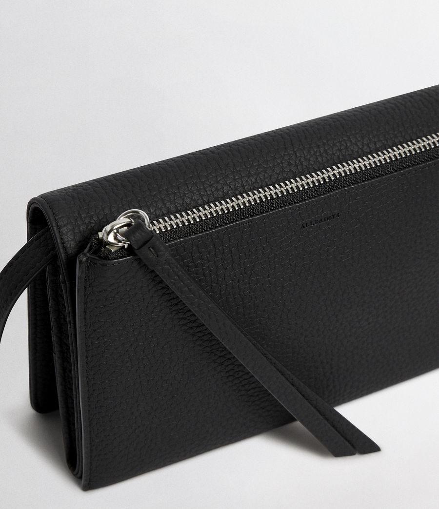 Women's Fetch Wallet Crossbody (black) - Image 4