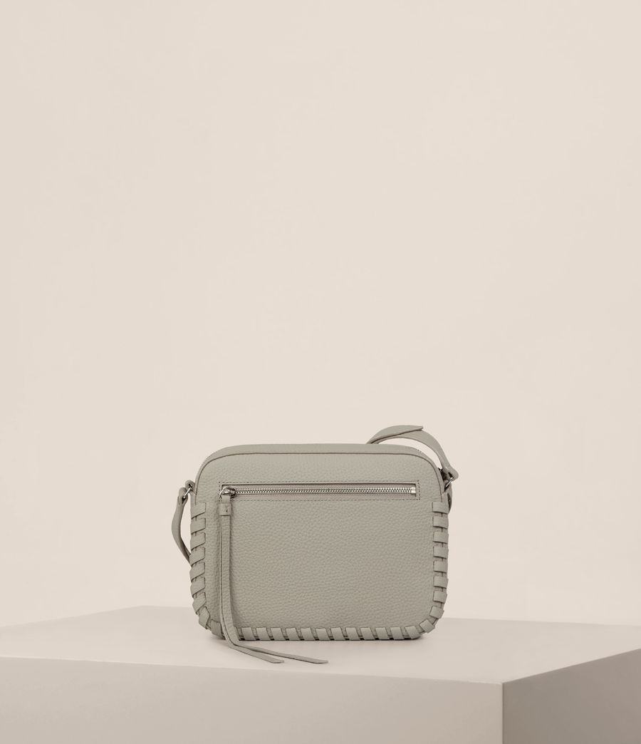 Womens Kepi Mini Crossbody (taupe_grey) - Image 7