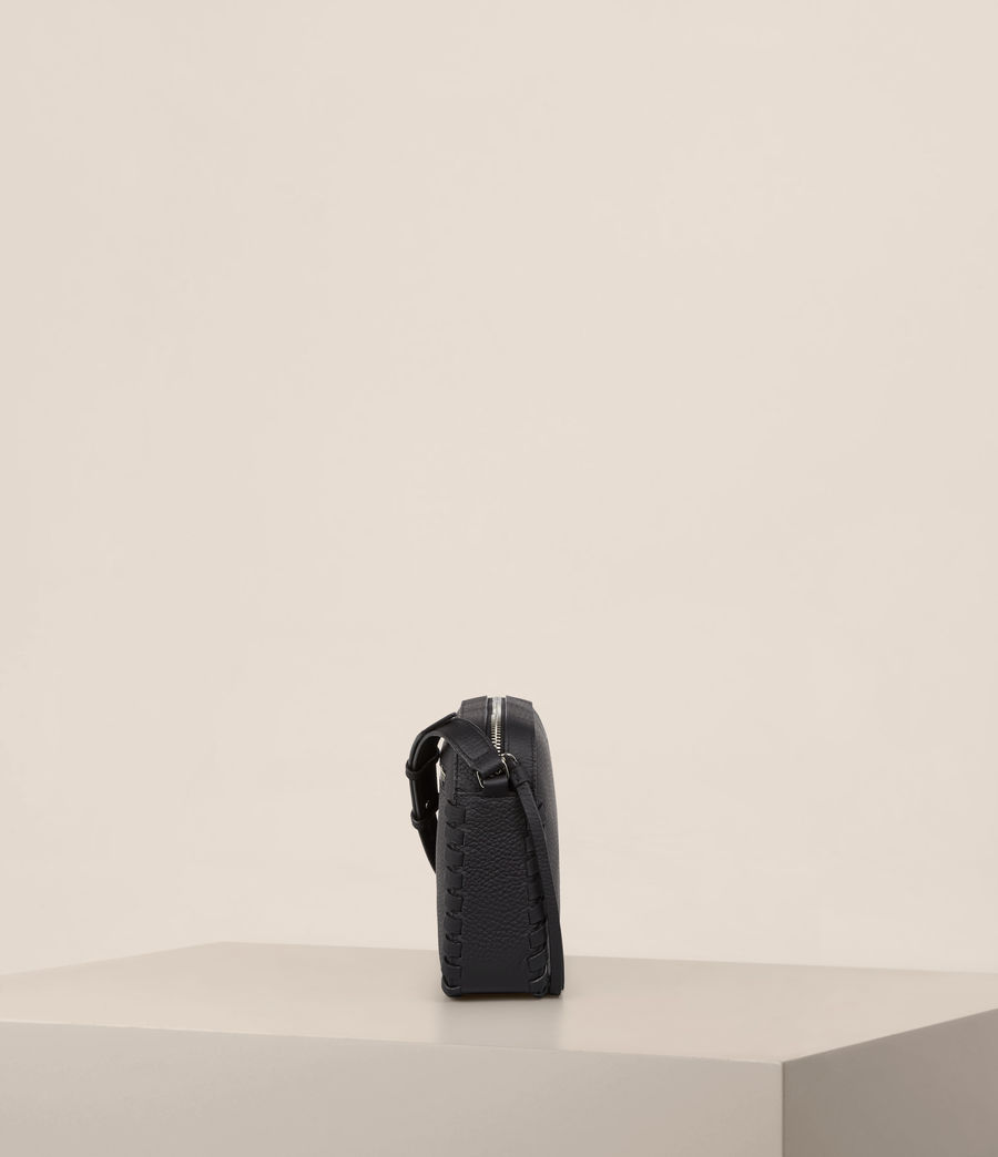 Womens Kepi Mini Crossbody (black) - Image 6