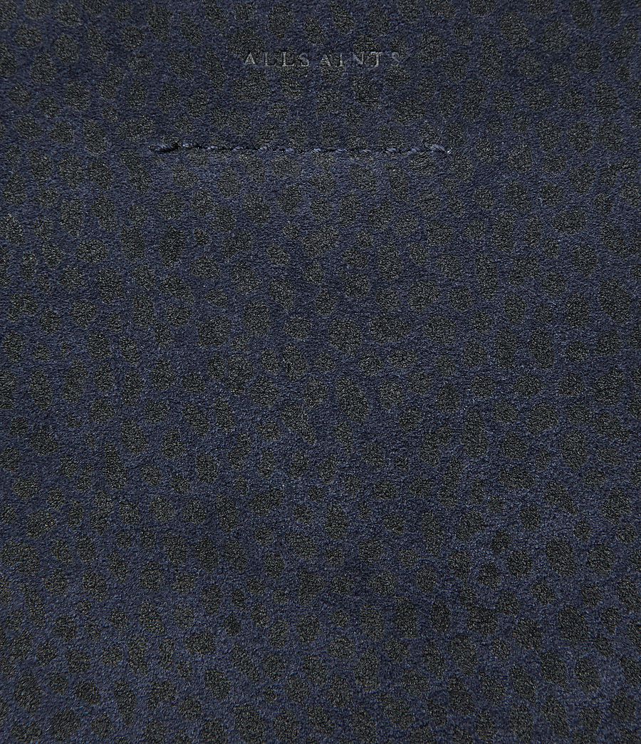 Women's Pearl Mini Hobo Bag (marine_blue_black) - Image 4