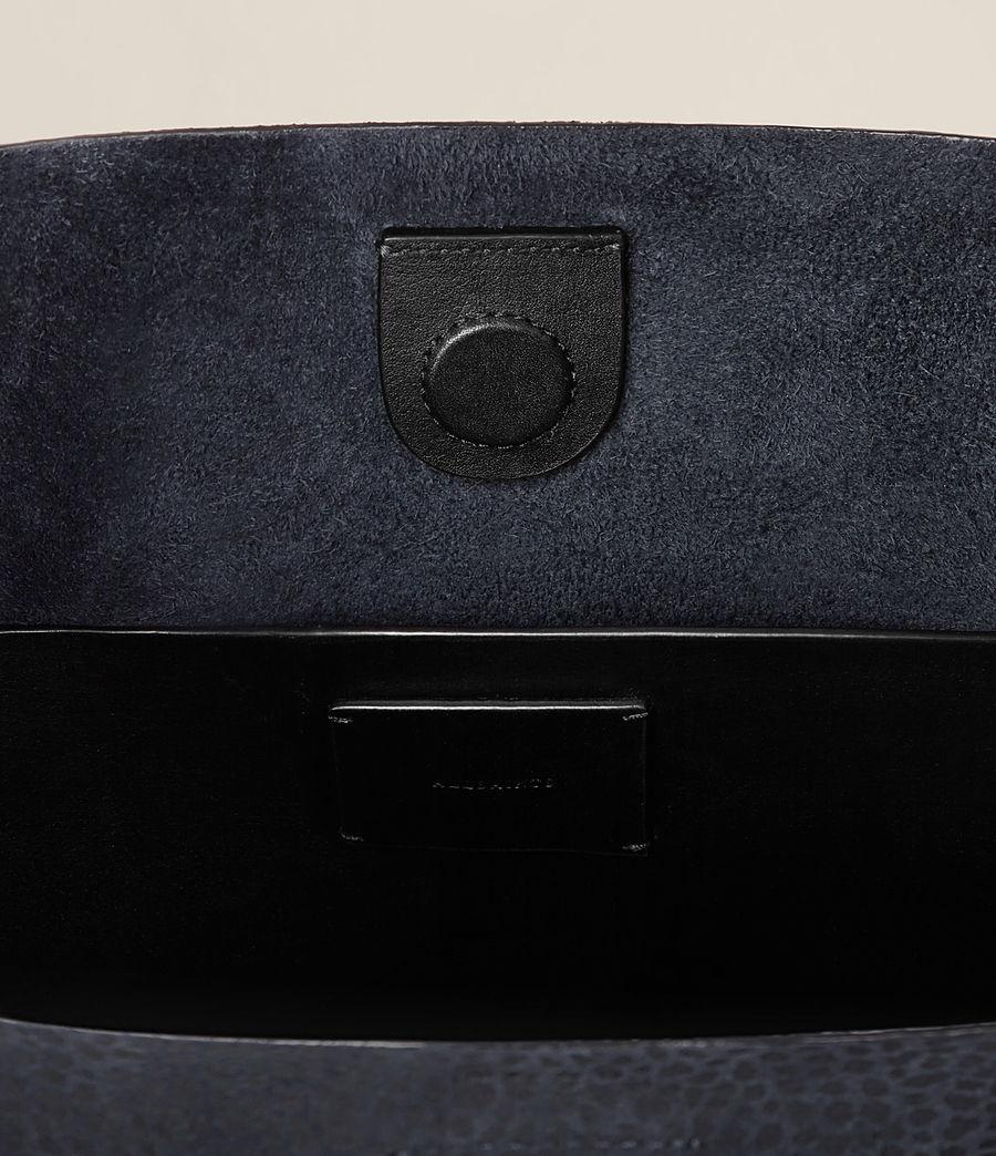 Women's Pearl Mini Hobo Bag (marine_blue_black) - Image 6