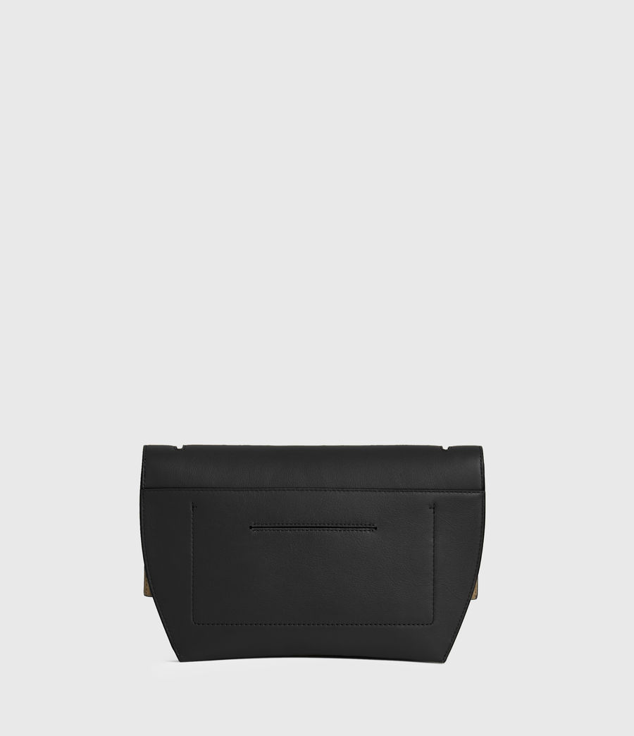 Mujer Harley Leather Crossbody Bag (black) - Image 5
