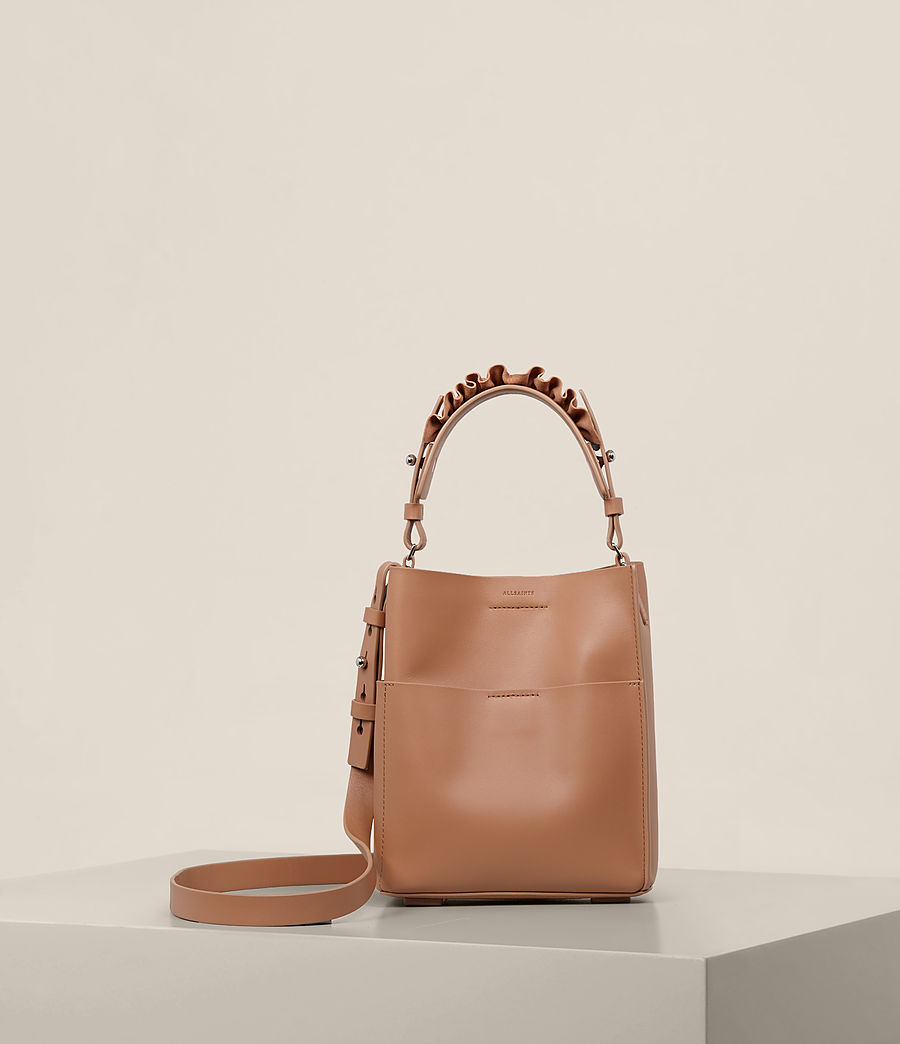 Women's Maya Mini North South Tote (caramel) - Image 1