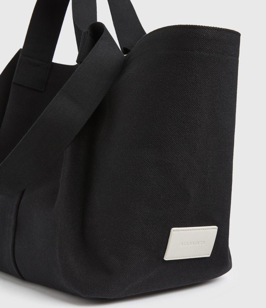 Damen Clarendon East West Tote Bag (black) - Image 3
