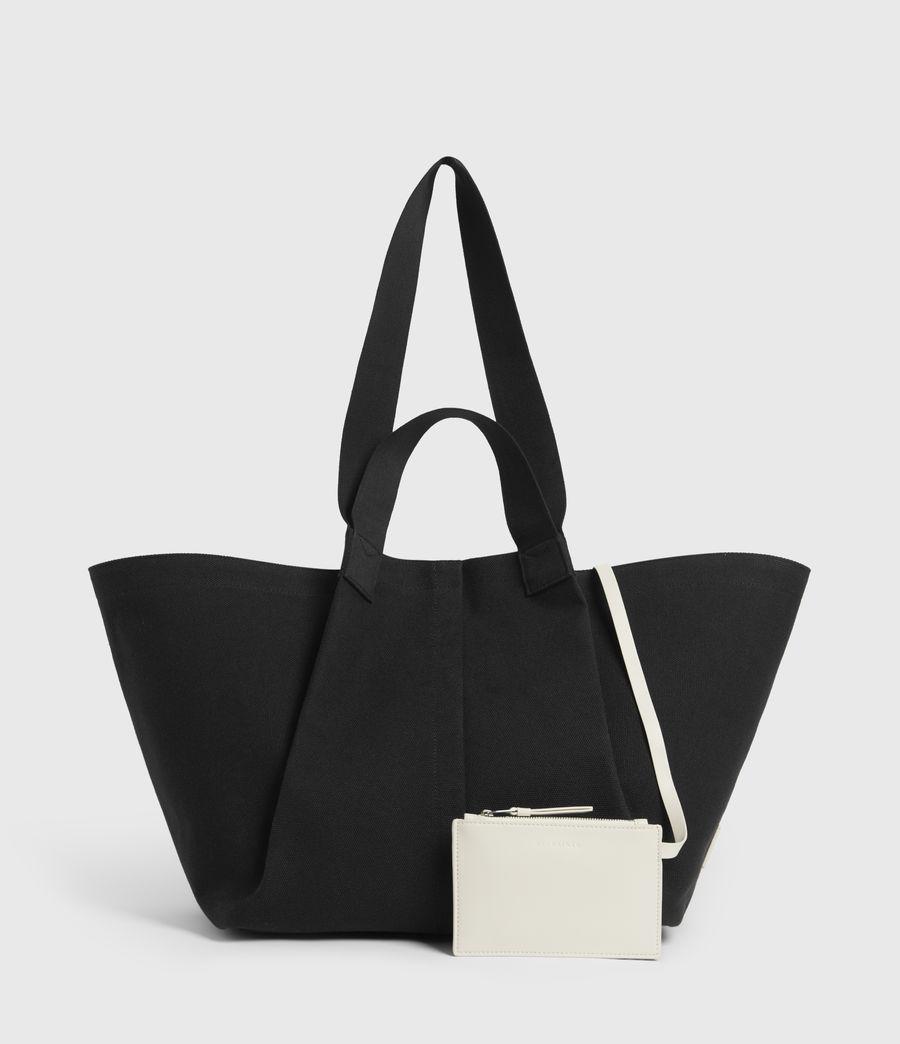 Womens Clarendon East West Tote Bag (black) - Image 4
