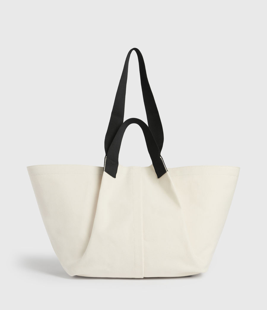 Women's Clarendon East West Tote Bag (warm_white) - Image 1
